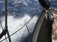 Haciendo frente al mar