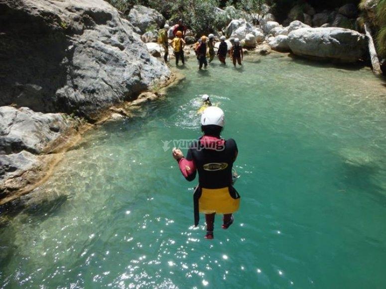 Salto al agua