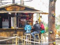 Descanso en el bar