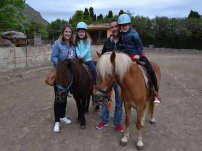 Visita alla fattoria più itinerario a Pony, adulti, 1 ora
