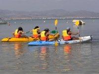 Cours de kayak
