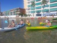 Canoë-kayak entre amis