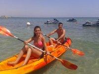 Canoë-kayak avec votre partenaire