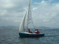 Sailboat handling
