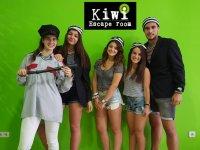 Amigos en escape room de Figueres