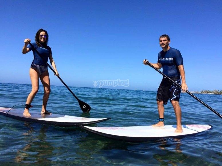 Paddle surf en Canarias