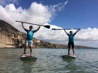 Curso de paddle surf iniciación Maspalomas 3 horas