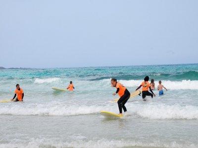 富埃特文图拉岛 2 日冲浪课程