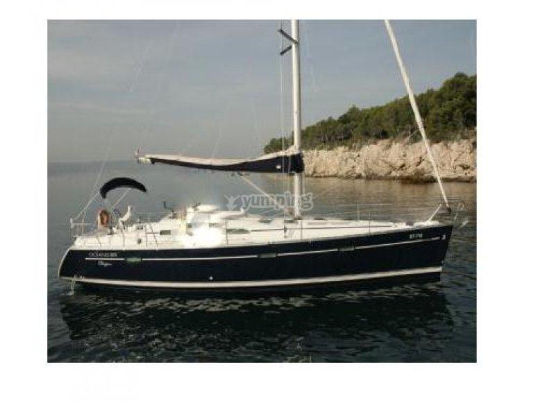 阿尔梅里亚的帆船