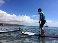Aprende paddle surf