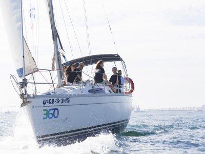 Alquiler de velero en Puerto de Santa María 2 h