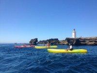 Kayaks en Tarifa