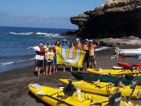 Excursión de grupo  -  pesca en kayak