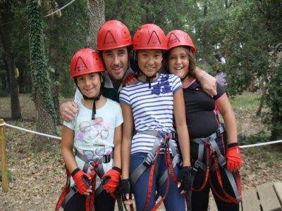 洛格罗尼奥儿童的冒险和高空滑索线路