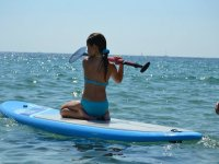 4h Renting a paddle surf equipment in Ibiza