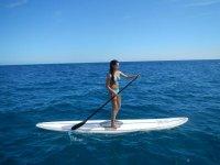 curso de paddle board