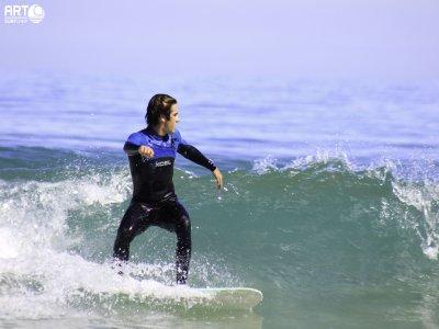 Clase Surf Privada Playa de Razo 1 hora 30 min