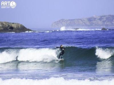Surfboard Rental in Playa de Razo - 1 day