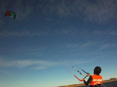 Curso de perfeccionamiento kitesurf, 2 h Santander