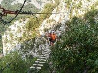 Vía ferrata de La Hermida nivel K3 Picos de Europa