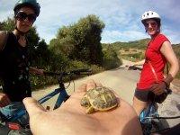 Sorpresas en la excursión en bici