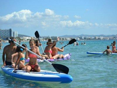 伊维萨岛桨冲浪设备租赁全天