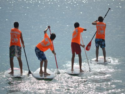 Guided Paddle Surf journey in Cantabria coast 2 h