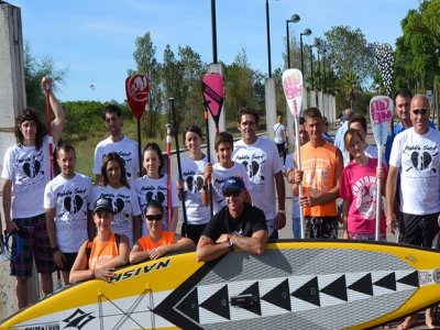 Paddle Surf waves initiation course 2 hours