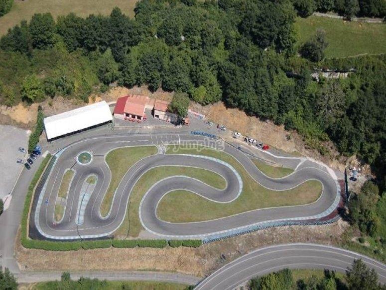 Nuestro circuito de karting