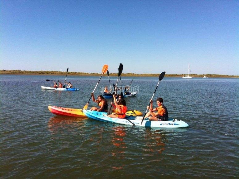 kayak peques