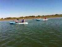 Kayak doppio noleggio gratuito a El Rompido 2 ore