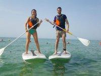 赫罗纳桨式冲浪课程