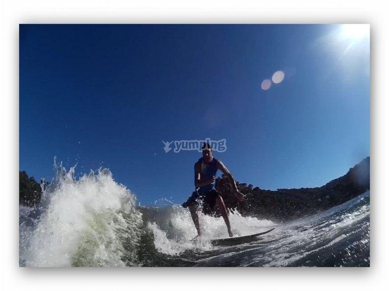 Surf curso de iniciacion