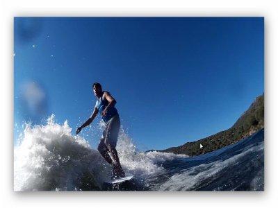 Sesión a wakesurf en Pelayo de la Presa 20 minutos