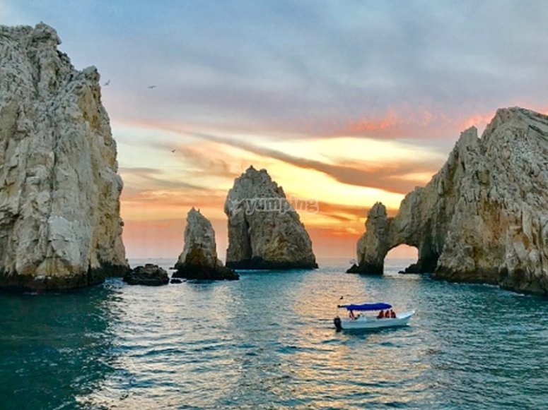 Disfrutando de un paseo en barco por la Costa Cálida