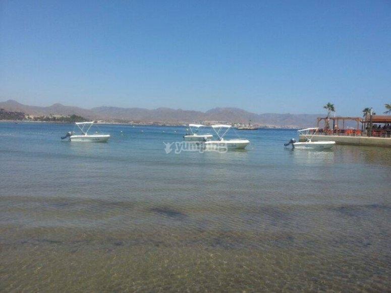 Paseo en barco por Mazarrón