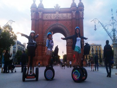 Euro Segway Barcelona Team Building