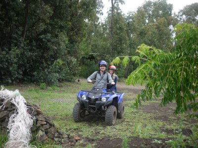 Two-seating quad tour Cerdanya valley 1h