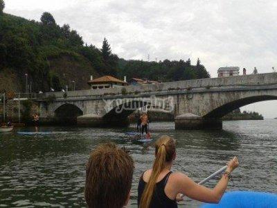 Paseo en canoa-raft familiar río Deba, Niños
