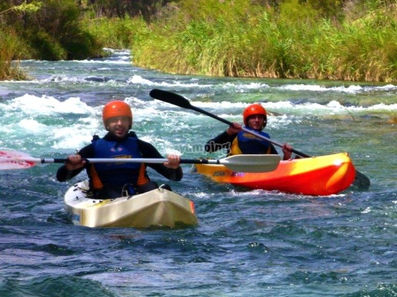 ruta kayak rio cabriel