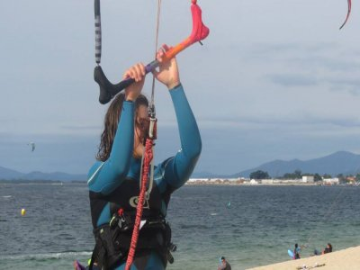Kitesurf training course in O Grove
