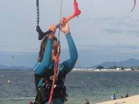 Corso di perfezionamento del kitesurf a O Grove
