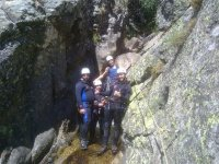 Ready for canyoning