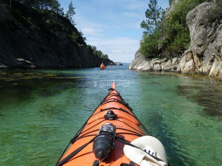 kayak aguilas murcia