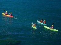kayak playa calabardina murcia