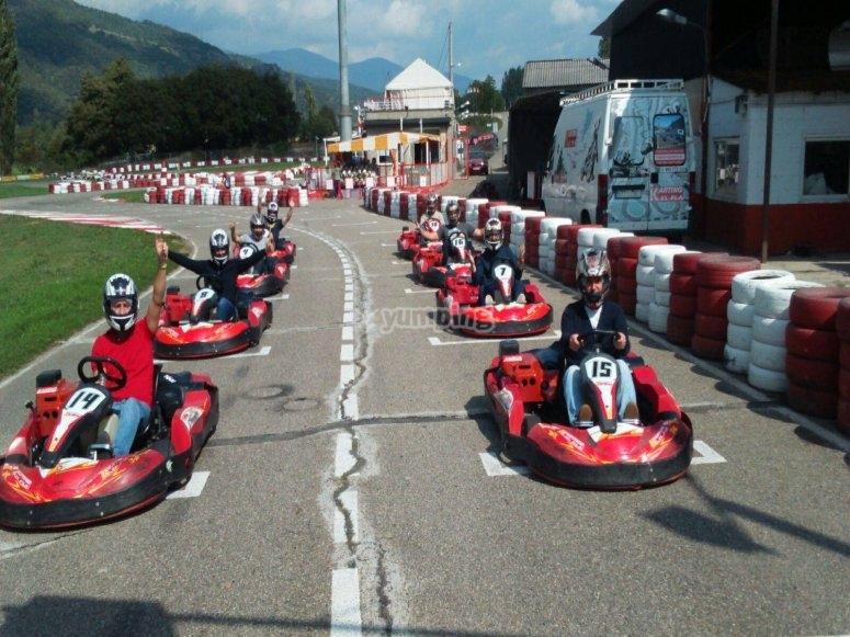 Karting round