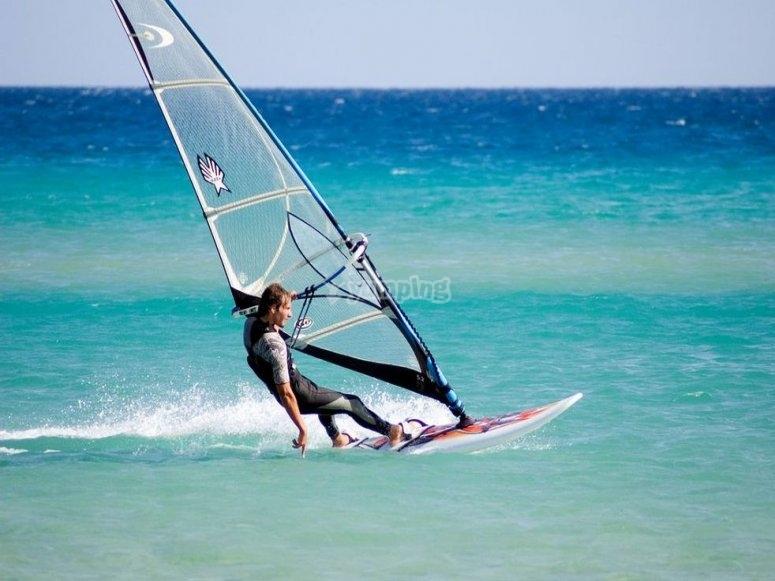 Windsurfing in Águilas