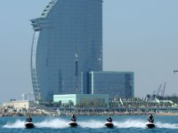 Route moto of water 2-seater Port Olimpic 2h