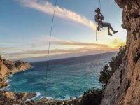 Sesión de escalada en Ibiza