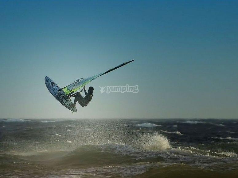Windsurfing in Murcia